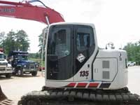 Tinted Construction Equipment