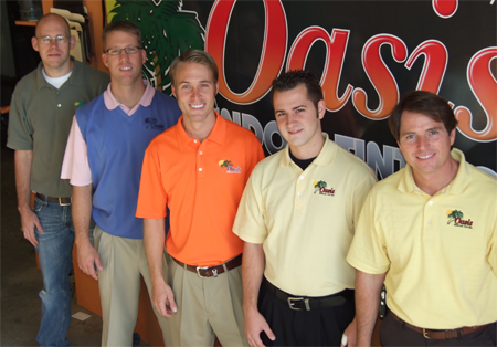 Oasis Window Tinting Sales and Installation Team