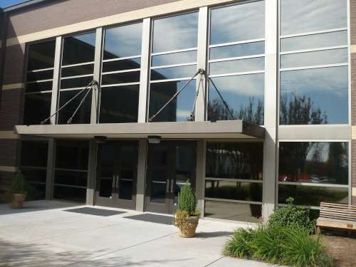 Commercial Business Building Window Tinting and Glare Reduction